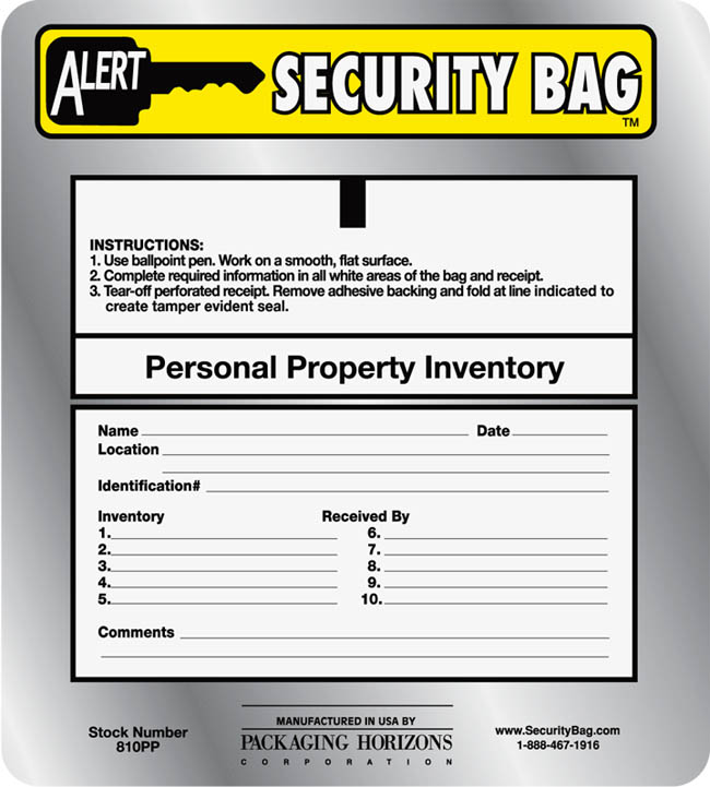Personal Property Return